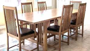 Full Size Of Dining Room Chairs Plans Furniture Woodworking Mission Style Excellent Di Gorgeous Craftsman Table