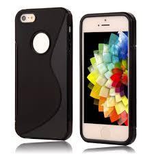 For iphone5c New S LINE Anti Skid Silicone Gel TPU Slim Soft