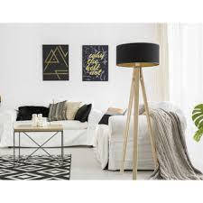 stehle schwarz gold 140cm holz wohnzimmer retro