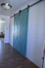 BARN DOORS AND SHIPLAP WALL - Project Weekley Barn Door For Bathroom Modern Shower Features Dark Brown Square Door Sliding Glass Blinds As Hdware Ypsilanti Farmers Market Growing Hope With A Blue White Shiplap Walls Frame A Powder On Silver Rail Garage Sale Finds Fridaythe Week I Find Rusty Vintage Stuff 13 Best For Hamptons Images On Pinterest Salina Ks Ideas Unusual Design Come With Color Painted Slidgbndoorcabinetarwprojectstep12 Arrow Fastener Shed