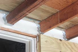 Installing Ceiling Joist Hangers by That Day We Found Out Our Porch Roof Wasn U0027t Really Attached To The