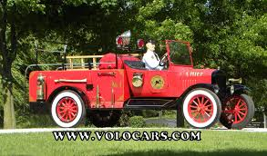 100 Ford Fire Truck 1919 Model TT Volo Auto Museum