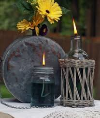 Citronella Oil Lamps Diy by Beachy And Functional Make This Sea Glass Mason Jar Storage With