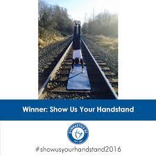 Traveling Handstands October 2014 by Gymnastics Bc