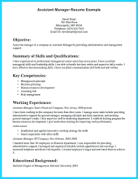 Resume Objective Examples For Property