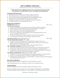 Sales Support Resume Customer Service Examples Daily Com Specialist Sample