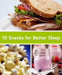 10 simple snacks for better sleep life by daily burn