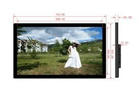 mural grand taille 32 pouce cadre photo numérique cadre photo