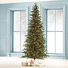 Pre Lit Pencil Christmas Trees by How To Select And Decorate Your Christmas Tree Grandin Road Blog