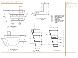 Corian 810 Sink Cad File by Free Curved Reception Desk Plans Blueprints Woodworking Arafen