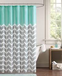 Grey Chevron Curtains Walmart by Intelligent Design Nadia Shower Curtain Shower Curtains Pinterest