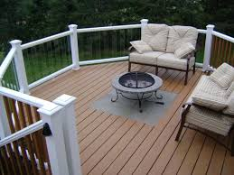 put this on a trex deck decks fencing contractor talk