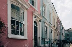100 Notting Hill Houses Colourful Terraced Of Is One