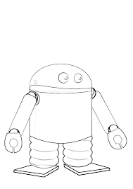 Best Coloring Book For Android Androids Colouring Pages
