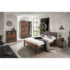 home affaire schlafzimmer set set einzelbett mit polsterkopfteil nachtkommode kleiderschrank 3 trg kommode
