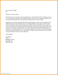 Law School Letter Of Recommendation Template Examples Letter Templates