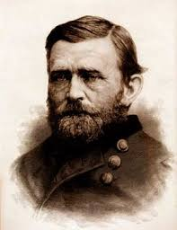 General Ulysses S Grant Portrait Civil War Art Drawing Print 1865 By Staudenbaur