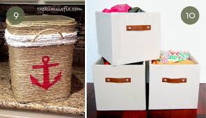 Roundup 10 Fantastic DIY Storage Boxes Baskets And Containers