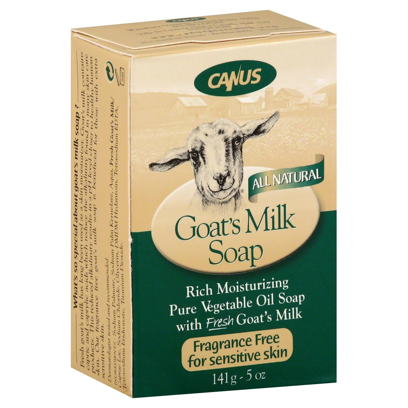 Canus Goat's Milk Bar Soap­ - 150ml