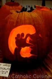 Peter Pan Pumpkin Stencils Free by Catholic Cuisine The 2012 Saint O Lantern Link Up