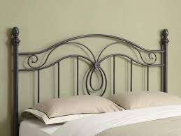 Wrought Iron And Wood King Headboard by Wrought Iron Headboard King Doherty House Iron Headboard
