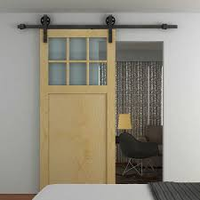 Barn Door Rollers Kits : Barn Door Rollers Ideas – The Door Home ... Vintage Sliding Barn Door Kit Hdware Kitchen Ideas Doors Cabinet Hcom Rustic 6 Interior Set Shop At Lowescom With Also The Correct Way To Install Small Mini Best 25 Barn Door Hdware Ideas On Pinterest Diy Traditional John Robinson House Decor Amazoncom Yaheetech 12 Ft Double Antique Country Style Black