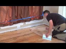Applying Polyurethane To Hardwood Floors Youtube by 23 Best Pallmann Natural Oils Images On Pinterest Natural Oils
