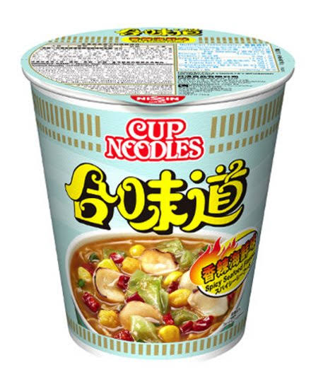Nissin Spicy Seafood Flavor Cup Noodles - 73g