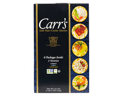 table carr cuisine boxed com carr s water cracker 25 5 oz variety pack