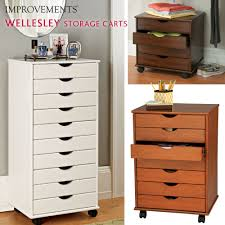 Akro Mils 26 Drawer Storage Cabinet by Wellesley Rolling Storage Cart Can Be Used In Just About Any Room