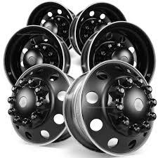 100 Semi Truck Tires For Sale Alcoa 225 DuraBlack Ged Aluminum Wheel Package
