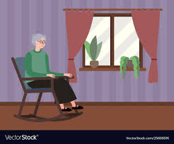 Grandmother Sits Window In A Rocking Chair Happy Calm African Girl Resting Dreaming Sit In Comfortable Rocking Senior Man Sitting Chair Homely Wooden Cartoon Fniture John F Kennedy Sitting In Rocking Chair Salt And Pepper Woman Sitting Rocking Chair Reading Book Stock Photo Grandmother Her Grandchildren Pensive Lady Image Free Trial Bigstock Photos Hattie Fels Owen A Wicker Emmet Pregnant Young Using Mobile Library Of Rocker Free Stock Png Files