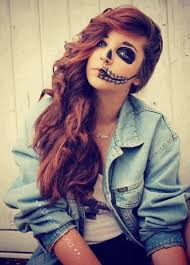 Halloween Half Mask Makeup by Half Mask Halloween Makeup Photo Album Halloween Ideas