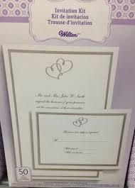 Walmart Wedding Invitation Kits Afoodaffair Templates