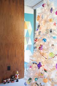 Our Mid Century Modern White Christmas Tree And The Kids Growing Nutcracker Collection