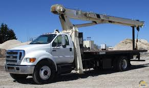 National 571E 18-ton Boom Truck Crane On Ford F-750XL For Sale ...