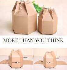 Joy Kraft Paper Gift Box Handmade DIY Boxes Craft GIFT Packaging