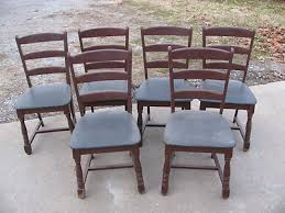 four 4 boling captain s chairs pattern 150 dark oak finish