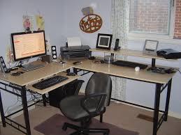 Sauder L Shaped Desk by Small L Shaped Corner Desk Designs Bedroom Ideas