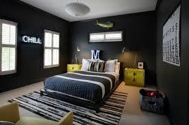 papier peint chambre ado gar n 0 papier peint chambre garçon noir tapis blanc noir gris anthracite