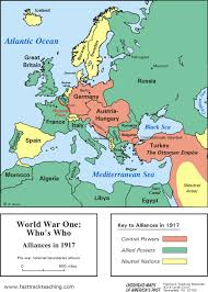 Where Did The Lusitania Sink Map by Us History Ii World War I