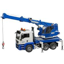 100 Bruder Trucks Crane Truck With Light Sound