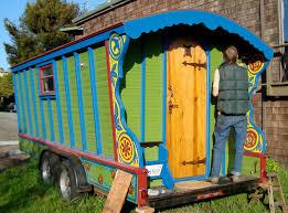 100 Gypsy Tiny House Wandering Book Artists Wagon