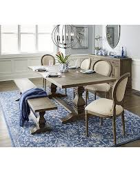 Tristan Trestle Dining Table Created For Macys 1 Reviews 139900