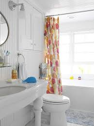 new york modern shower curtains bathroom beach style with recessed