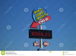 Iowa 80 Truckstop Editorial Stock Image. Image Of Americana - 20099579