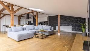 wohnzimmer idee wohn dachboden mit ecksofa couchtisch