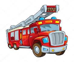 100 Fire Truck Cartoon Firetruck Stock Photo Illustrator_hft 58880777