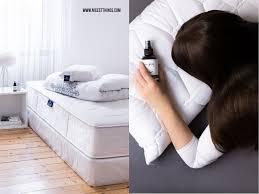 diy kissen spray selber machen tipps bei schlafstörungen