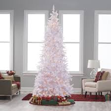 9 Ft Slim Christmas Tree Prelit by Winter Park Slim Pre Lit Christmas Tree Hayneedle